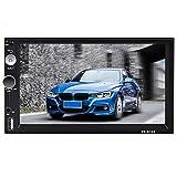 Android Car Stereo GPS Navigation Radio Player, Podofo 2 DIN 7 '' Pantalla táctil Bluetooth WiFi Receptor FM Enlace de Espejo de teléfono móvil con AUX/SD/USB + Cámara de Marcha atrás