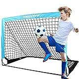 Happy Jump Cage de Foot But de Foot pour Enfant Jardin Entrainement Football 1 Paquet