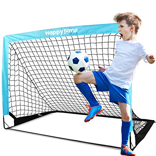 Happy Jump Porta da Calcio Rete da Calcio perBambini GiardinoAllenamento 1 Confezione