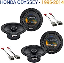Compatible with Honda Odyssey 1995-2014 Factory Speaker Replacement Harmony (2) R65 Package New