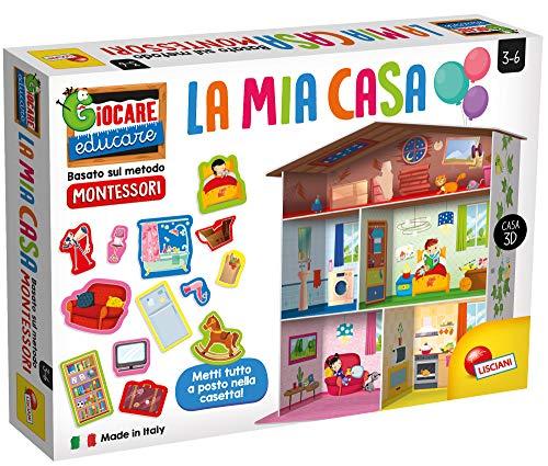 Liscianigiochi- Giocare Educare, Montessori La Mia Casa, 72477