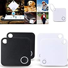 $20 » MACHSWON GPS Locator Mobile Phone Bluetooth Anti-Lost Bluetooth Smart Tracker GPS Key Wallet pet Item Finder Replaceable B...