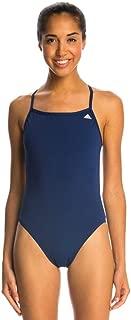 adidas Women's Infinitex + Solids Swimsuit, Navy, Sz 30