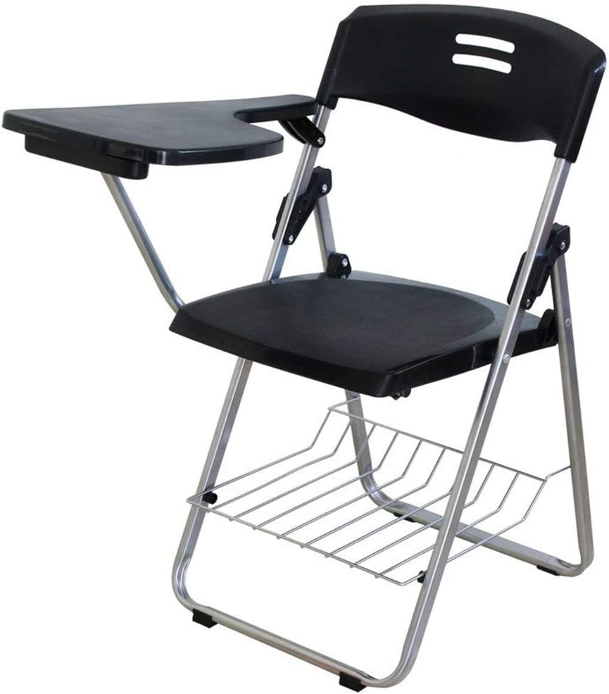 Online limited Ranking TOP20 product Plastic Chair with Right Handed Flip-Up Arm Tablet and Book Bask