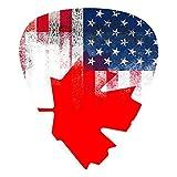 American Canada USA Canadian Flag Classic Guitar Picks American Flag Guitar Pick 12-Pack