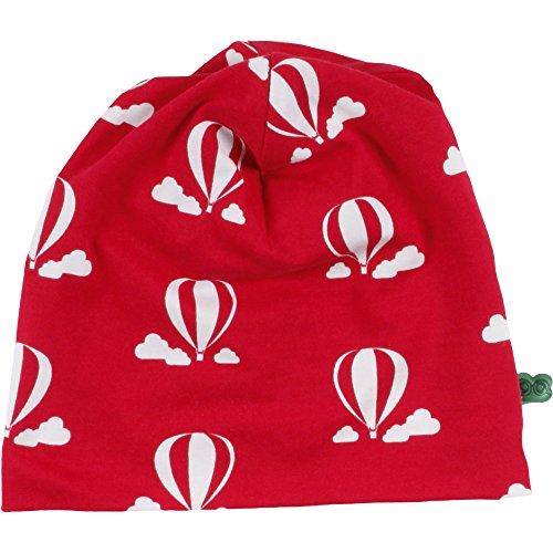 Fred's World by Green Cotton Unisex Baby Balloon Beanie Mütze, Rot (Red 019176206), M (Herstellergröße: 80/86)