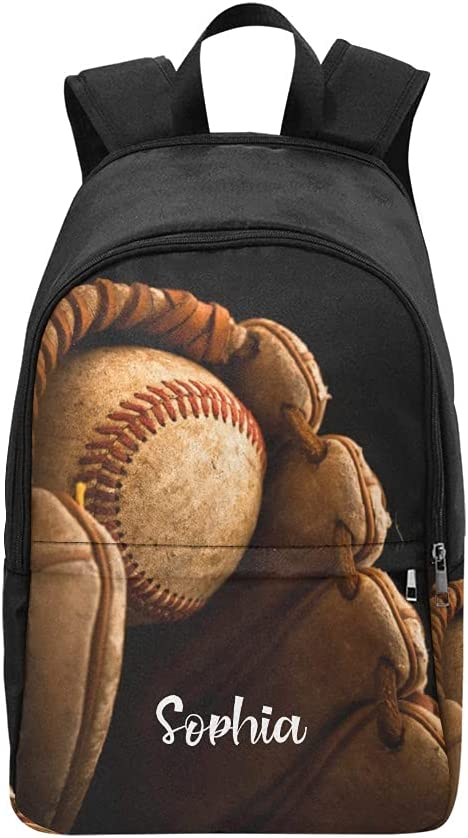 Baseball Popular brand Sport personalized Backpack Cheap sale with Bag Custom Name Laptop