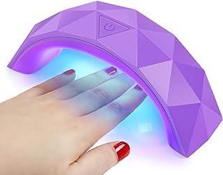 LED Lampara 9W de Uñas Gel UV Secador de Uñas para Esmaltes Semipermanentes Curado Luz Máquina para Manicura