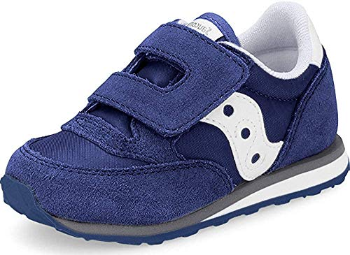 Saucony Boy's Baby Jazz Hook & Loop Sneaker, Cobalt Blue, 10 M US Toddler