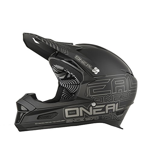 full face mtb helmet removable chin guard