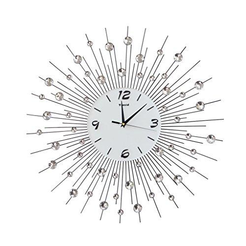 Orologio da parete Ferro Forma dispersa personalità Decorazione Creativo Orologio al Quarzo Camera da Letto Muto Tavolo appendente