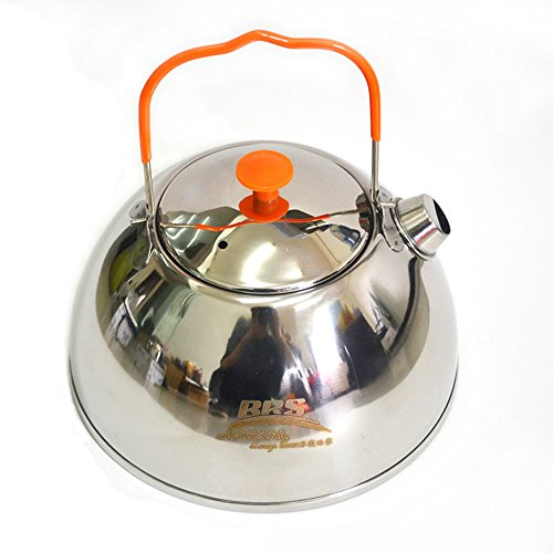 RSB BRS 0.6L Outdoor Camp Picnic Cookware Mini Teapot Stainless Steel Kettle Coffee Pot