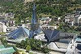 Rompecabezas para adultos Andorra Caldeo Puzzle 1000 piezas de madera de recuerdo de viaje