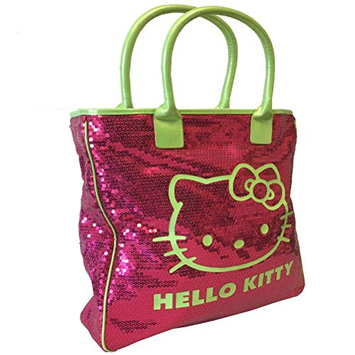 Grand sac shopping Sequins Hello Kitty par Camomilla