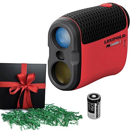 Leupold Golf Laser Rangefinder PinCaddie 2, Gift Pack, Packed and Ready