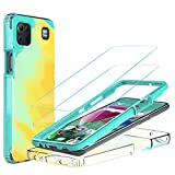 Jeylly LG K92 5G Case with 2pcs Tempered Glass Screen