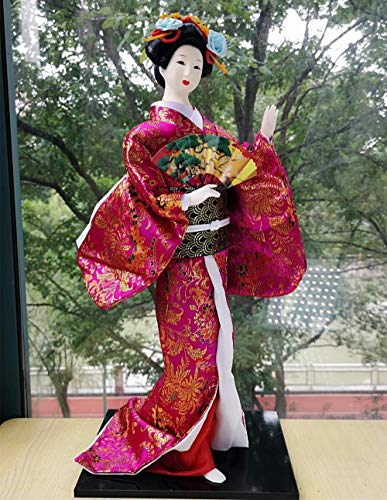 Powzz ornament Japanese Geisha dolls large size 55cm and wind home decorations@3