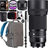 SIGMA 105mm F2.8 DG DN MACRO | Art . Make everyday details more magnificent. Mid-telephoto macro lenses give photographers a boost to creativity and a versatile working distance, which makes the lenses a favorite among professionals as part of their ...
