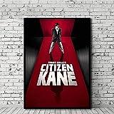 Amokr Foto auf leinwand 30x50cm kein Rahmen Citizen Kane