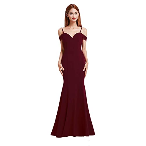 7c263ea4049c Ever Pretty Women's V Neck Off The Shoulder Sweetheart Neckline Evening  Party Dresses 07017