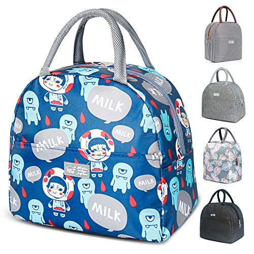 Lunch Bags for Women Lunch Box for Kids Tote Bag Lunch Box Insulated Leakproof Freezable Cooler Bag Fashionable Lunch Container Lunch Bags for Kids