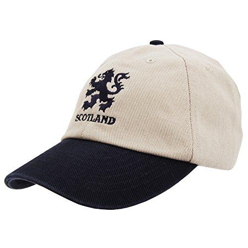 Scotland - Gorra/Visera de Escocia con Correa Ajustable (Ajustable) (como se Muestra)