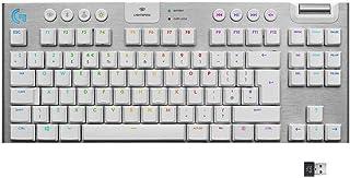 Logitech G915 TKL Tenkeyless LIGHTSPEED Wireless RGB Mechanical Gaming Keyboard, Low Profile Switch Options, LIGHTSYNC RG...
