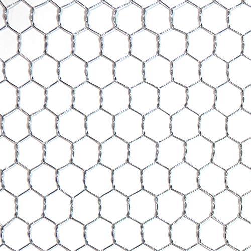 ダイドーハント (DAIDOHANT) (金網) 亜鉛引 亀甲金網 (線径d)#18(0.9mm) x (目合a)40mm/(幅W)910mm x (長さL)30M 1巻入 10160242