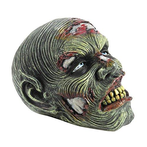 Design Toscano Lost Zombie Head Garden Statue - Zombie Decorations - Halloween Decoration