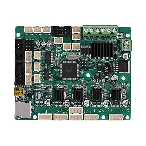 Topiky Reemplazo de la Placa Base Placa de Control Placa Base para la Impresora 3D Creality CR-10S Trabaja con E/Z/Y/X Eje Motor