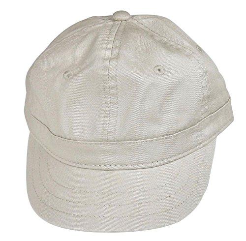Big Accessories Women's Cotton Twill Cap, Short Bill Trucker/Baseball Style Hat - Stone, One Size Fits All.