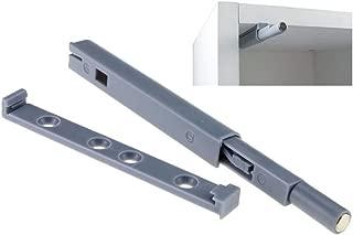 SNOWINSPRING 4pzs Negro Amortiguador de sistema de empujar para abrir magnetico para cajon armario gabinete