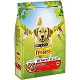 Purina Friskies Vitafit Active Pienso para Perro Adulto Buey 1 x 3 Kg