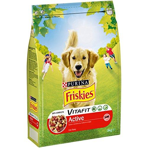 Purina Friskies Vitafit Active Pienso para Perro Adulto Buey 3 Kg