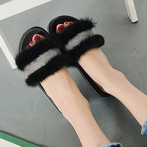 Aa-nvliangxie Sandales femme chaussons de diamants de l'eau en été les pieds des femmes High Heels Sandales muffin à la mode Plage à fond épais Serviettes Herringbone.Eu38CN39