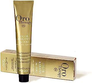FANOLA Oro Puro Therapy Color Keratin hårfärg 4,14 kakao, 100 ml