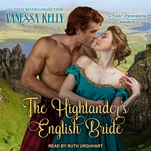 The Highlander's English Bride cover art
