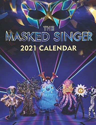 The Masked Singer 2021 Calendar