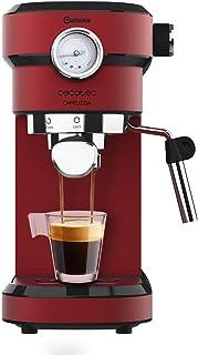 comprar comparacion Cecotec Cafetera Express con Manómetro Cafelizzia 790 Shiny Pro. Brazo con Doble Salida y Dos filtros, 20bares de Presión,...