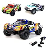 1 18 Elektro 2 4GHz Off Road RC ferngesteuerter Short Course Pickup Truck Buggy,4WD, Digital vollproportionale Steuerung Top Speed bis zu 35 km h, Komplett Set RTR