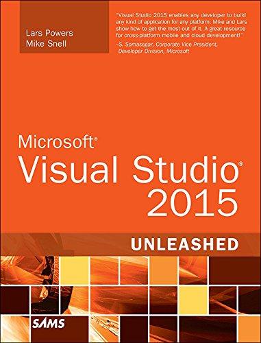 Microsoft Visual Studio 2015 Unleashed (English Edition)