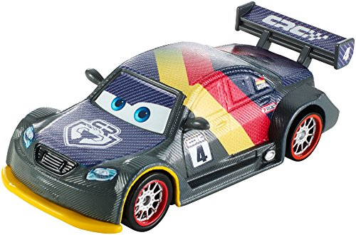 Cars 2 Disney Coche Carbon MAX Schnell (Mattel DHM77)
