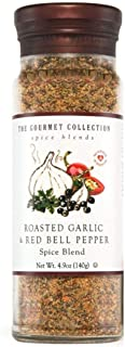 The Gourmet Collection Spice Blends Roasted Garlic and Red Bell Pepper Blend - Garlic Powder Seasoning for Cooking - Salt ...