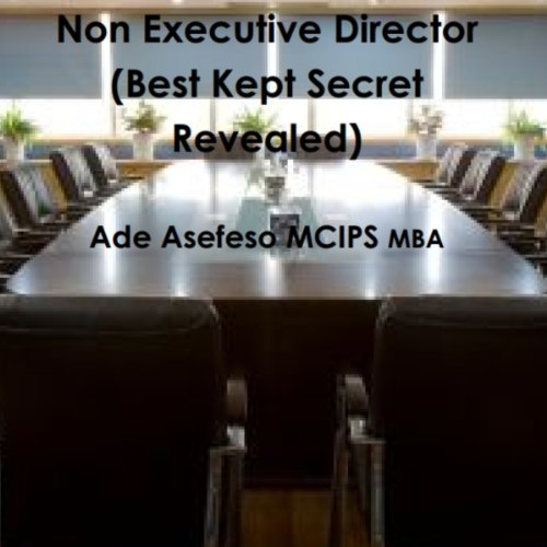 Non Executive Director cover art