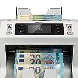 Safescan 2660-S – High-Speed Banknotenzähler für sortierte Geldscheine, mit 6-facher Falschgeldprüfung - 3