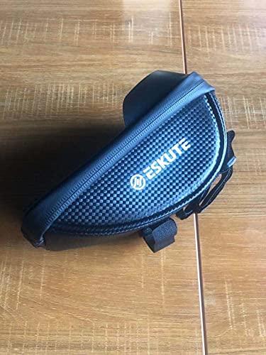 ESKUTE Bolsa Bicicleta Bolsa de Movil Bicicleta Manillar, Soporte Impermeable para Manillar de Bicicleta, Tubo Delantero, Paquete de Ciclismo con Gran Capacidad