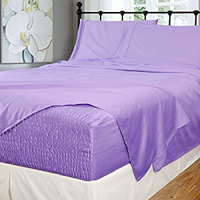 Bed Tite Stretch Fit 500-Thread Count Cotton Rich Super Silky Deep Pocket Sheet Set