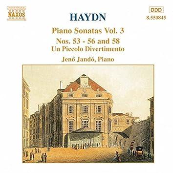 Haydn: Piano Sonatas Nos. 53-56 and 58 / Un Piccolo Divertimento