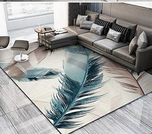 JINGJING Wohnzimmer Teppich Sofa Couchtisch Kissen Schlafzimmer Zimmer Nachtdecke große Fläche überdachte Bodenmatte nach Hause