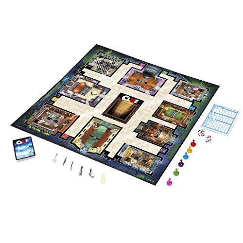 Jeu Clue Hasbro Article: A5826 - 5
